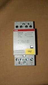 ABB installationsschütz ESB 24-40 gebraucht Funktion geprüft
