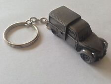 Citroen 2CV Van  3D split-ring keyring FULL CAR ref44