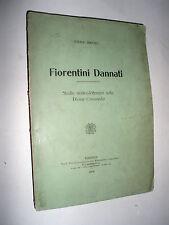 Fiorentini dannati : Studio storico-letterario sulla divina Commedia