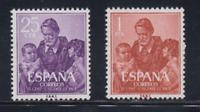 ESPAÑA (1960) NUEVO MNH SPAIN - EDIFIL 1296/97 SAN VICENTE DE PAUL