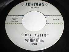The Blue Belles: Cool Water / When Johnny Comes Marching Home 45