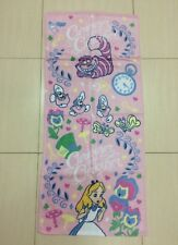 Disney Alice in Wonderland Hand Towel soft touch. Curiouser Theme. Very RARE