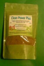 Clean power pluz powder herbs detox colon cleanse limpieza hierba mexicanas 8 oz
