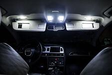 2 ampoules à LED  plafonnier avant  BLANC  pour   AUDI  A3 A4  A6 A8