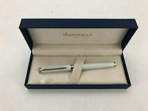 Waterman Fountain Pen | Metropolitan | Refillable | Quill Tip | White