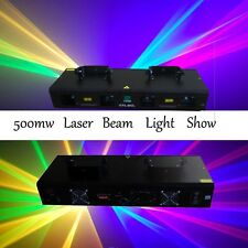 NEW ITEM 4 Lens 500mW RGYB DMX Laser Light Disco DJ Stage Party Lighting