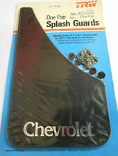 VINTAGE UNIVERSAL BLACK CHEVROLET CAR OR TRUCK SPLASH GUARDS-MADE IN USA