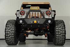 07-16 Jeep Wrangler JK Super Rock Crawler Guard Front Bumper+OE Fog Light Hole