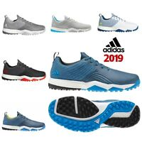 ADIDAS 2019 ADIPOWER SPORT 4ORGED BOOST SPIKELESS MENS WIDE FIT GOLF SHOES