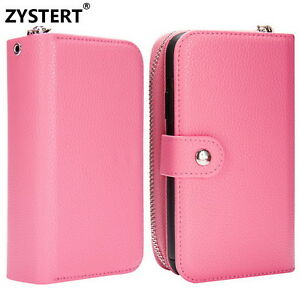 Fashion Grain Leather Flip Stand Card Phone Wallet Case Cover For APPLE IPhone X