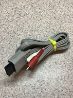(IL) Nintendo RVL009 AV Cable - Gray Free US Shipping