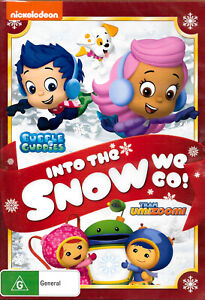 Bubble Guppies / Team Umizoomi Into the Snow We Go! -Family DVD New Region 4