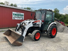 2010 Bobcat Ct450 4x4 Hydro 45hp Compact Tractor With Cab Amp Loader