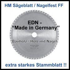 HM Sägeblatt 450x3,2x30mm 30FF Nagelfest Baukreissäge  stärkeres Stammblatt !!