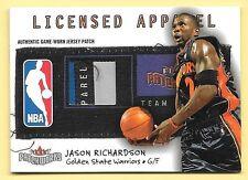 03/04 Patchworks Licensed Apparel #JR Jason Richardson Laundry Tag Patch #03/10