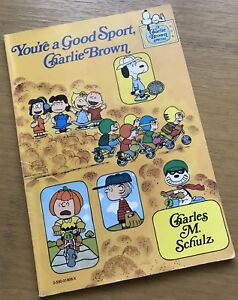 You're a Good Sport, Charlie Brown by Charles M. Schultz PB Full Colour