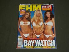 2003 MARCH FHM MAGAZINE (FOR HIM) - BAYWATCH BABES COVER - B 3540