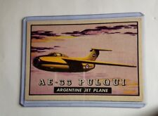 Vintage Trading Cards non-sport Airplane Friend or Foe Card # 102