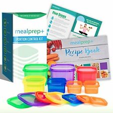 7Pcs Kitchen Dining Appetizer Plates BPA Free Food Storage Box Set New