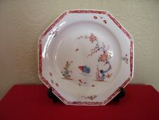 More details for kakiemon worcester / bow two quail pattern 18th century plate