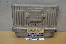 1996 Oldsmobile Achieva Engine Control Unit ECU 16211539 Module 59 10D6