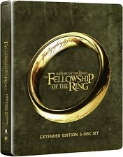 THE FELLOWSHIP OF THE RING STEELBOOK****BLU-RAY****REGION B****NEW & SEALED