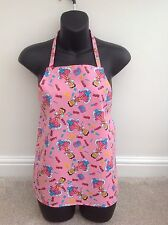 CHILDREN'S APRON PINK ONLY £4.35 PLUS FREE UK P&P IDEAL GIFT NEW
