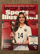 Morgan Brian Signed 11x14 Photo with Beckett COA