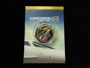 Solomon Islands Gilt-Copper Concorde Commemorative 50 Cents Coin 2019