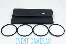 NGO 72mm - 4 Filter Close Up Kit +1 +2 +4 +8  w/Pouch & Cleaning Kit    FK006-72