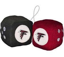 Atlanta Falcons Fuzzy Dice NFL Football Team Logo Plush Car Truck Auto