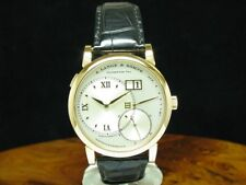 A.Lange & Söhne Large Long 1 18kt 750 Gold Hand Wound Men's Watch / Ref 115.032
