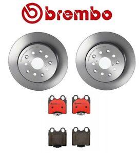 Brembo Rear Brake Kit Disc Rotors Ceramic Pads for Lexus GS300 GS430 IS300 SC430