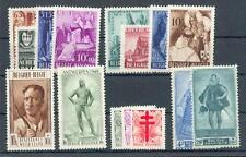 BELGIEN 1948 816-23,828-34 ** 150€ (29622