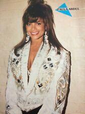 Paula Abdul, Gerardo, Double Full Page Vintage Pinup