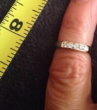 Women's 4 14K Gold Diamond Ring