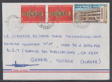 Kamerun 1987  Luftpostbrief  in die Schweiz