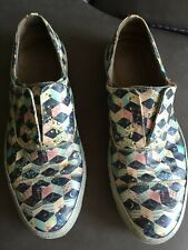 Alexander McQueen Patent Leather Sneakers Slipons Keds rare and authentic