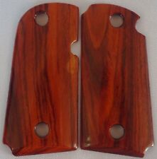 KIMBER MICRO 9MM GRIPS MADE WITH COCOBOLO WOOD REALLY NICE M-2
