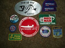 Fishing patches & Decals Loomis Bass