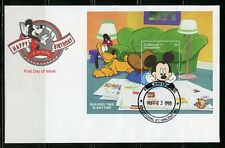 ST. VINCENT GRENADINES  DISNEY MICKEY'S BIRTHDAY  1997  S/S IV  FIRST DAY COVER