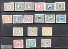 CANADA - MINT NEVER HINGED POSTAL SCRIP SET - SEE SCAN