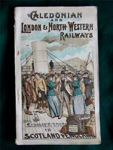 1894 Caledonian, London & North Western Railways, Summer Tours Scotland England