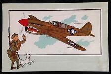 "TINTIN - VOIR ET SAVOIR AVIATION 39/45 - SERIE 2 N°32 - CURTISS P-40 ""WARHAWK"""