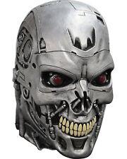 Morris Costumes Latex Full Over Terminator Well Sculpted Endoskull Mask. TB10323
