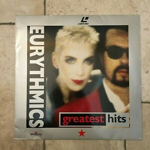 Eurythmics _ Greatest Hits _ LaserDisc _ 1991 BMG Germany _ RARE