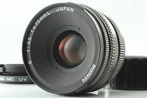 [Exc+5 w/ Rear cap] Mamiya G 75mm F3.5 L MF Lens For New Mamiya 6 Six From JAPAN