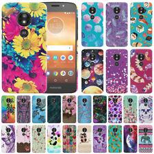 """For Motorola Moto E5 Play 5.2"""" Design Hard Back Case Cover Protector"""