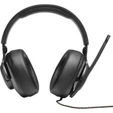 JBL JBLQUANTUM200BLKAM Quantum 200 Wired Over-Ear Gaming Headset With Flip-Up...