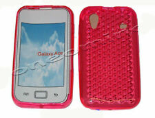 Pattern Gel Jelly Case Protector Cover For Samsung GT S5830 Galaxy Ace Pink UK